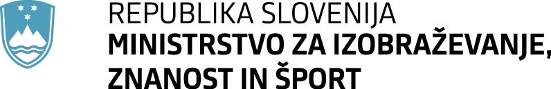 ministrvo za znanost in šport_logo